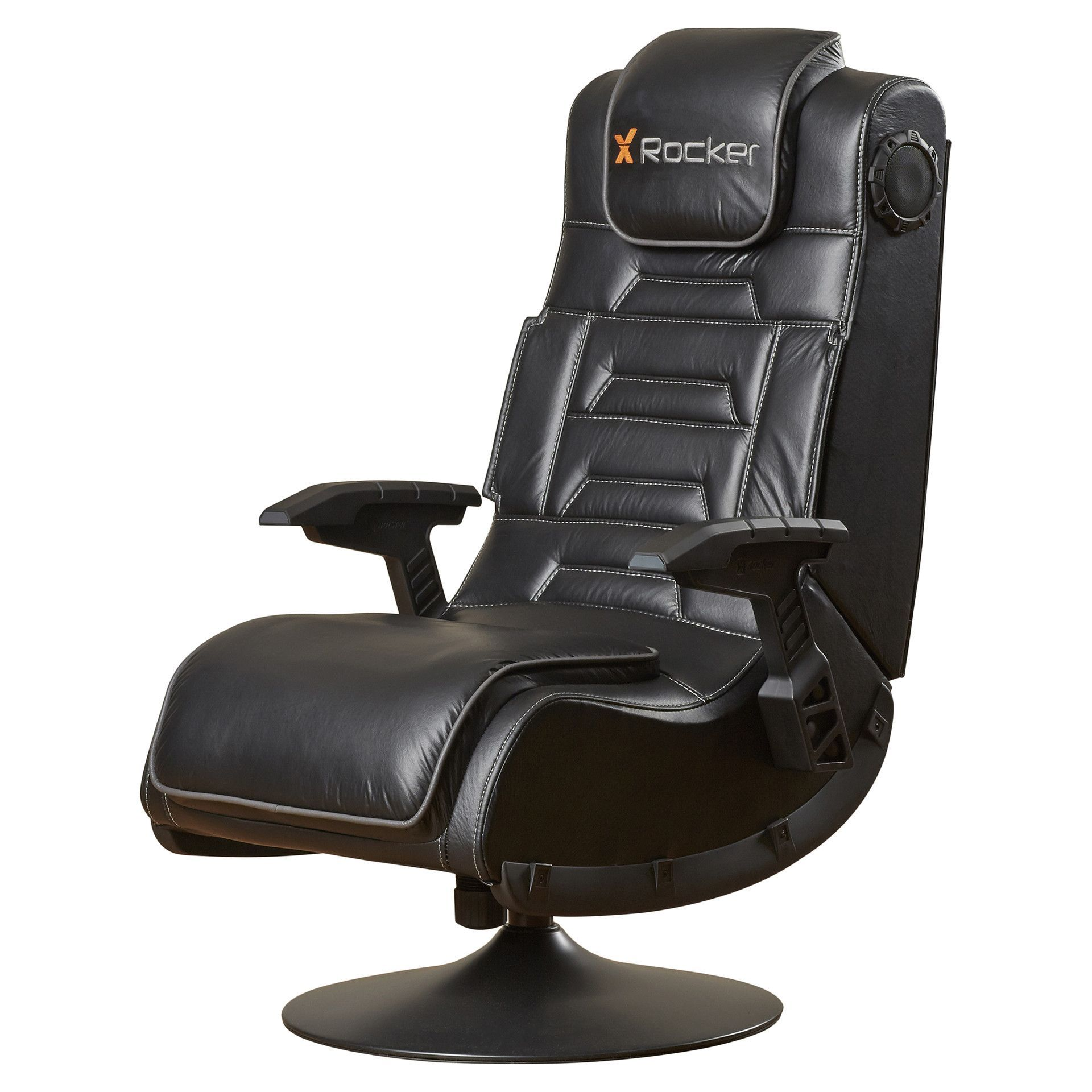 Features Ergonomic design with full back support. Side