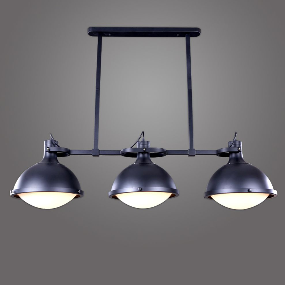 Led e loft industrial iron acrylic led lamp led lightpendant