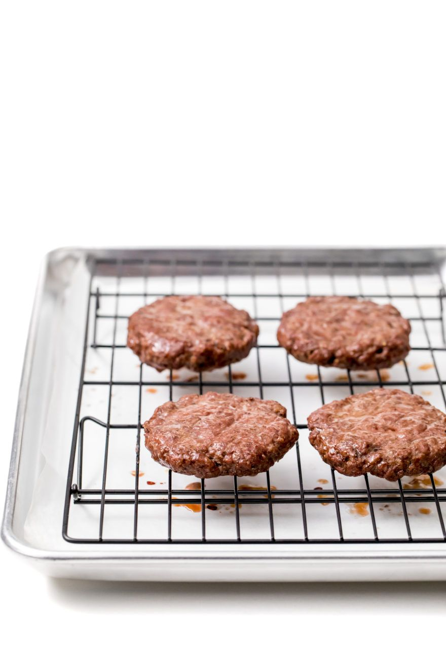 Beyond Meat Burger Toaster Oven