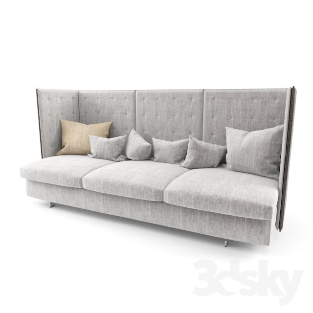 Poltrona Frau GRAN TORINO HB 3 SEATER SOFA | Boutique | Decor | Home ...