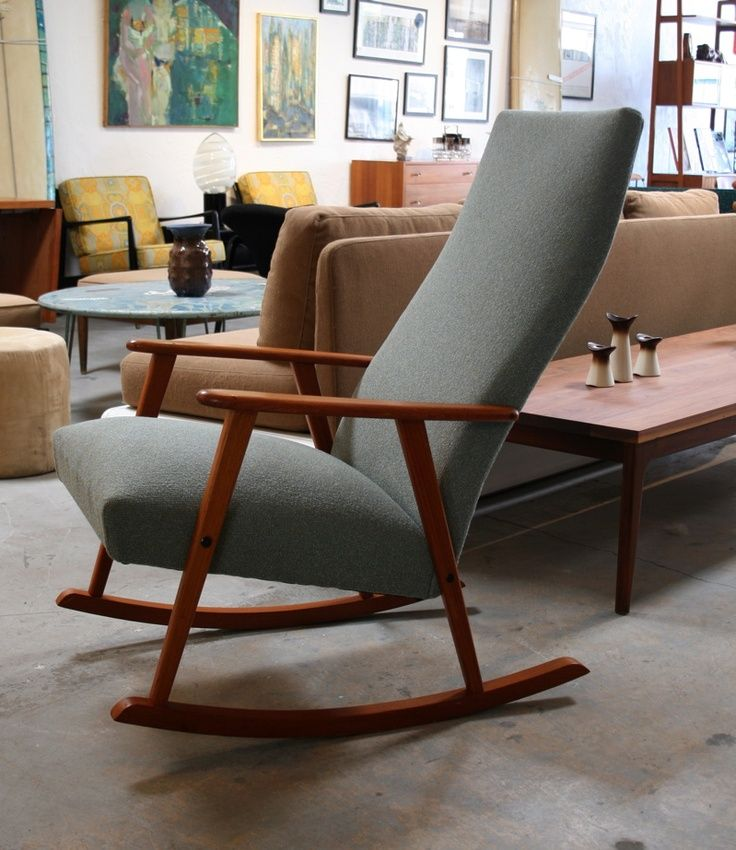 Upholstered Rocking Chair From Surfing Cowboys
