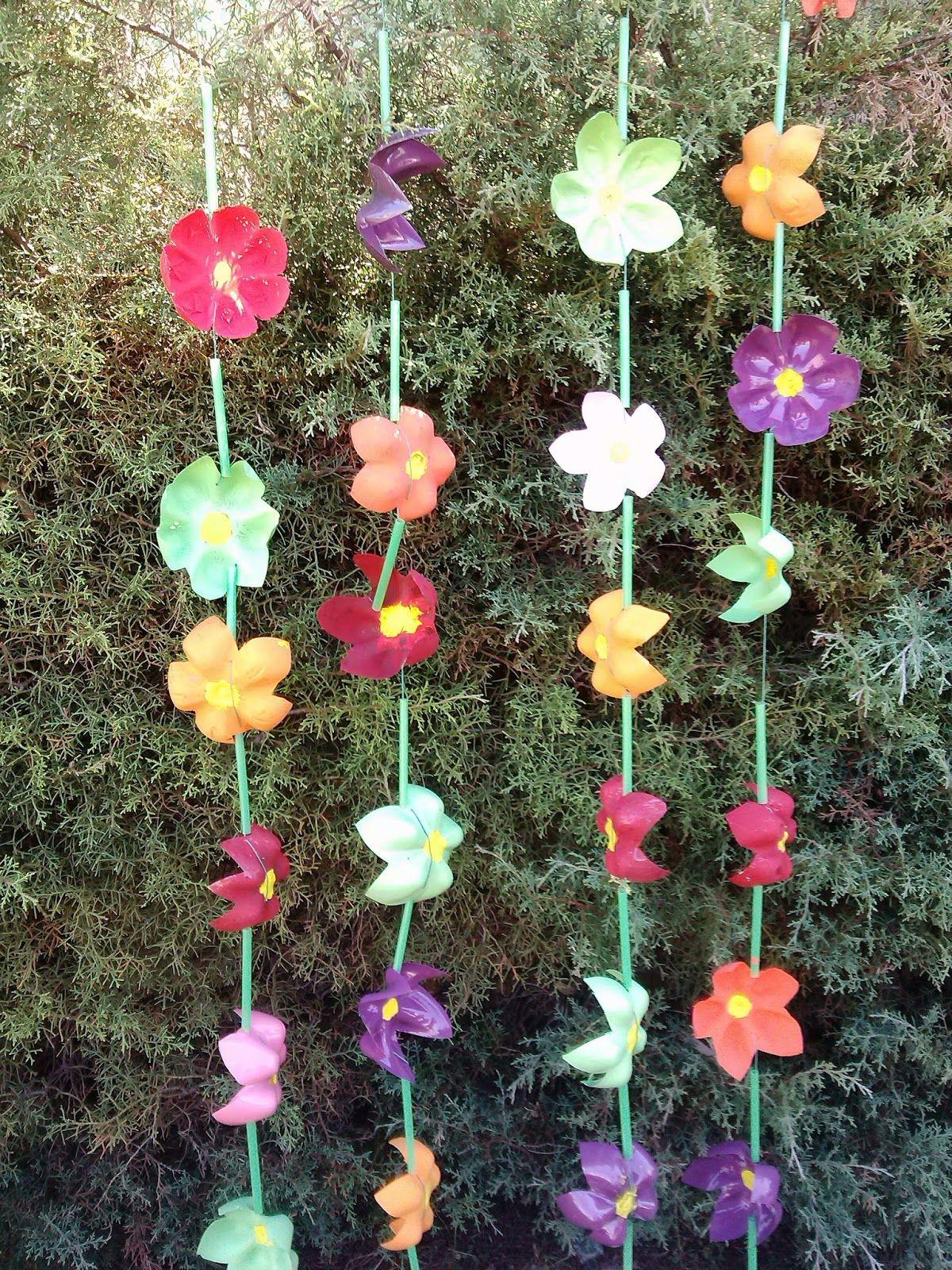 diy cortina PET | Jardinería | Pinterest