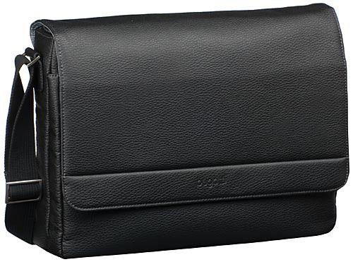 Bugatti Time Messenger Bag Schwarz - Umhängetasche
