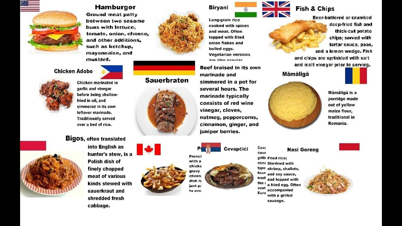 Countries And Their National Dishes National Dish Dishes 10 Things