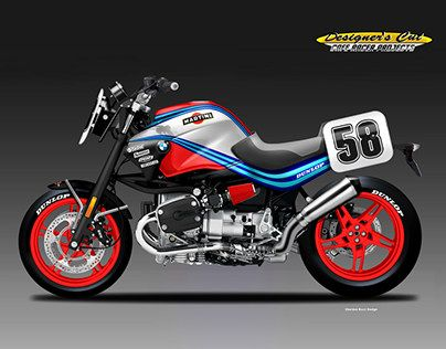 """Check out new work on my @Behance portfolio: """"BMW R 1150 MARTINI CAFE'SUPERBIKE"""" http://be.net/gallery/54204989/BMW-R-1150-MARTINI-CAFESUPERBIKE"""