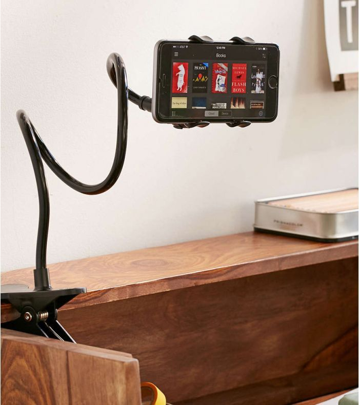 Support Pince Smartphone Flexible Smartphone Gadget Amplificateur De Son