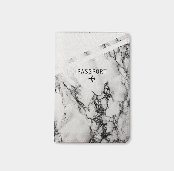 7fe576c21d1c Marble passport holder personalized passport cover passport holder ...