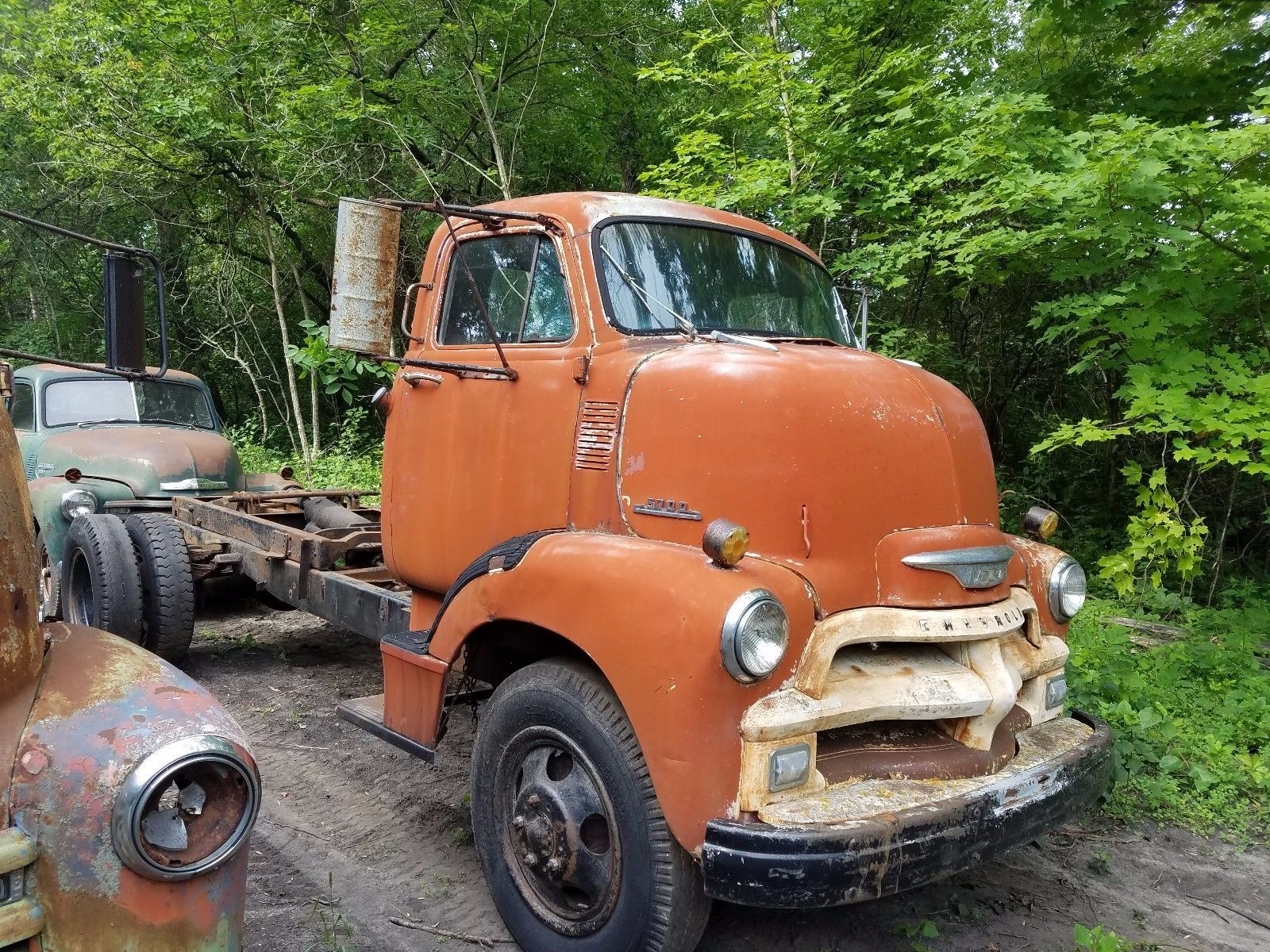 Rat Rods For Sale 1954 Chevrolet Other Pickups 1954 Chevy Coe Cabover Stub Nose Truck Excellent Worn Paint Patina Ratrod