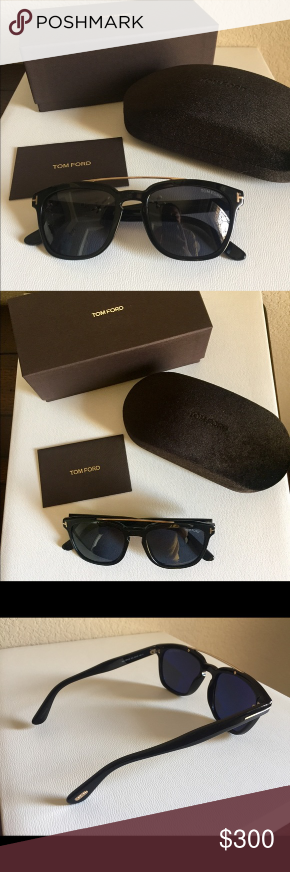 1bd422bc82 Tom Ford Men s Sunglasses Holt TF516 style. Never worn