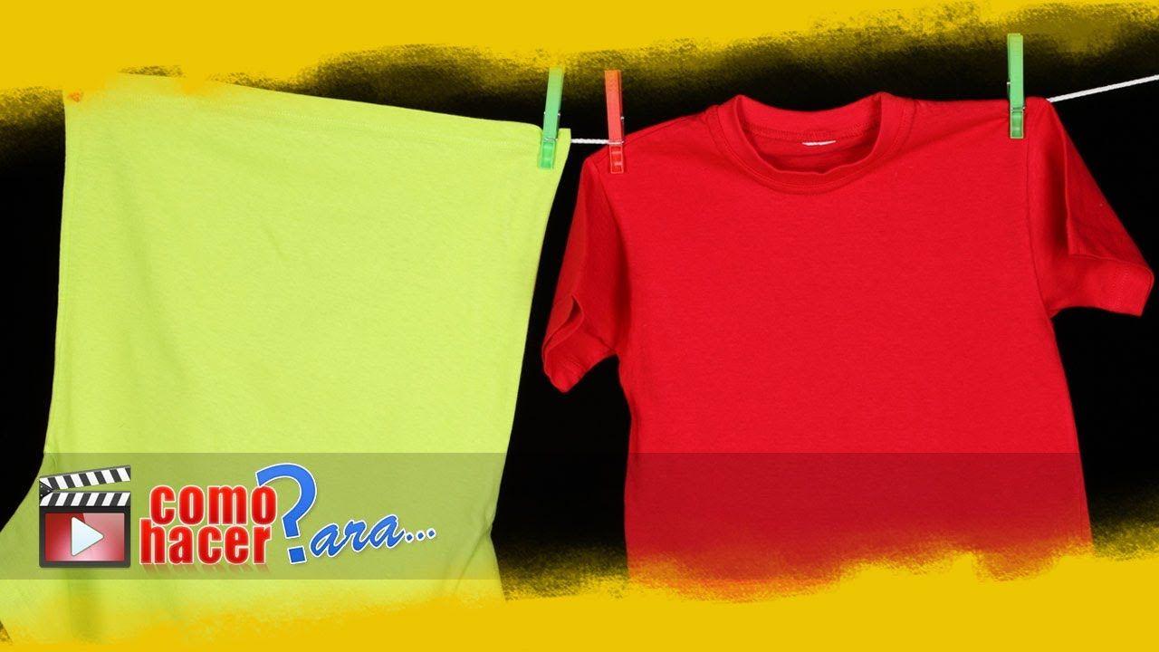Truco Para Doblar Una Camiseta En 2 Segundos Doblar Camiseta Camisetas Ropa