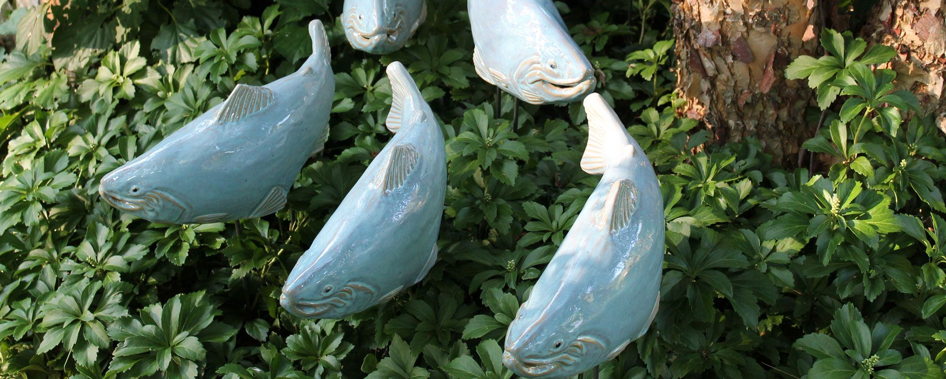 Shop garden art find garden sculpture buy fish garden for Fish garden statue