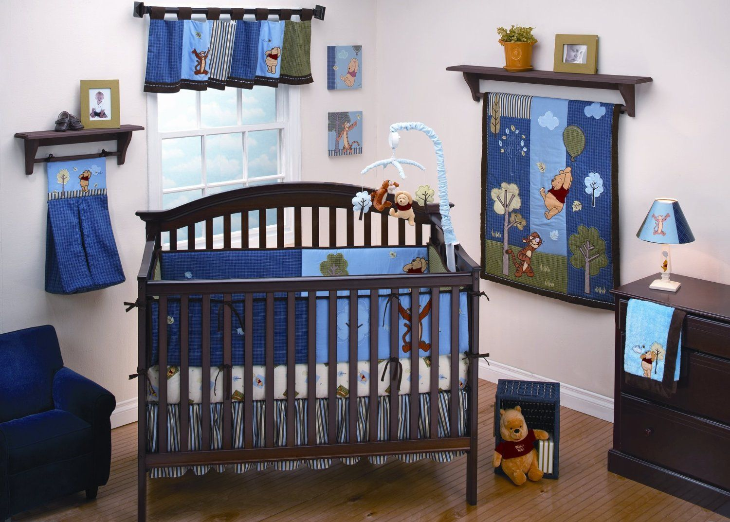 Baby cribs amazon - Winnie The Pooh Baby Bedding Up And Away