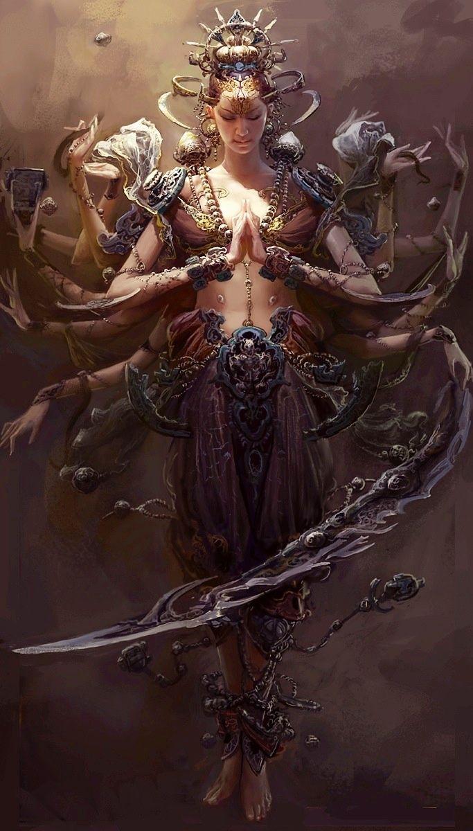 Vision Fyre Concept Art Gods And Goddesses Fantasy Art