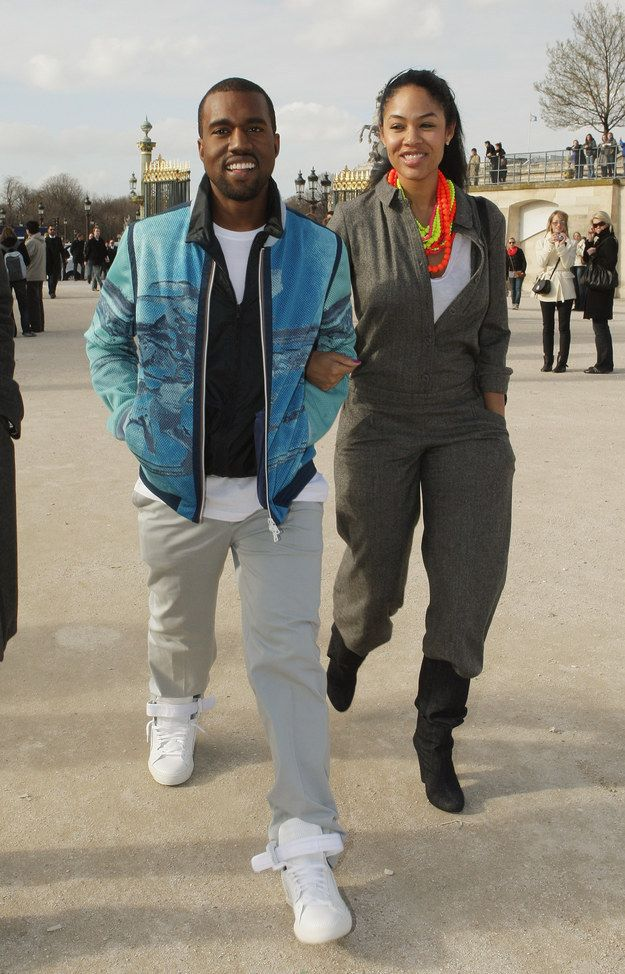 And hanging out in Paris. Kanye, Kanye west, Her style