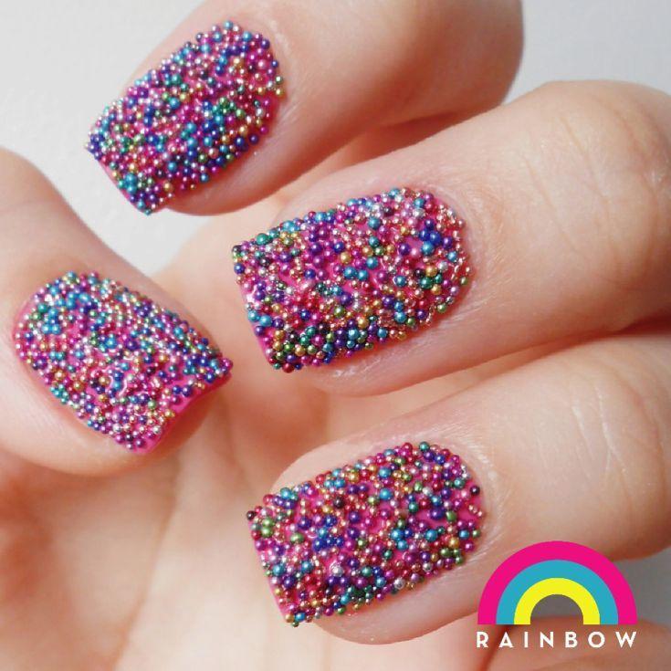 60 Nail Art Caviar Beads 2018 Nails Pinterest Caviar