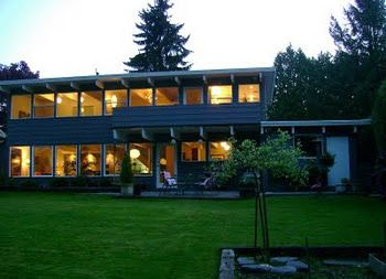 Mid-Century Modern Post and Beam: Maple Ridge, BC. C. 1956 ...