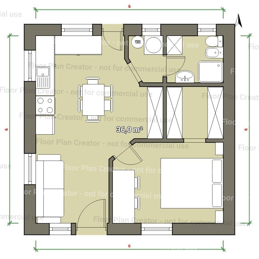 Pin de Eugene M en House plans | Pinterest | Planos, Casas pequeñas ...