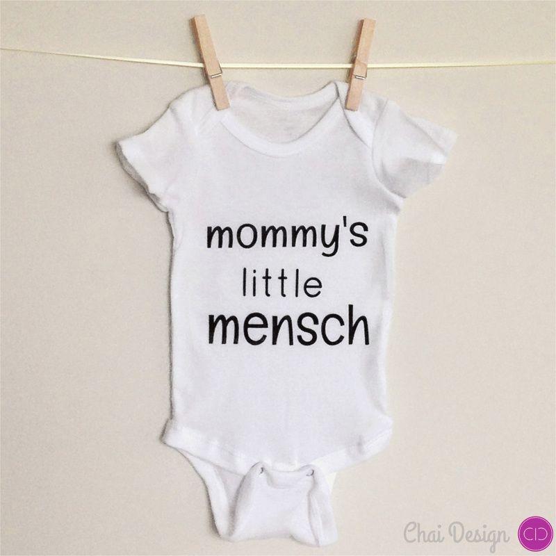 Featured Item Baby Wear Mensch - Chai Design Boutique | ✽ Support ...