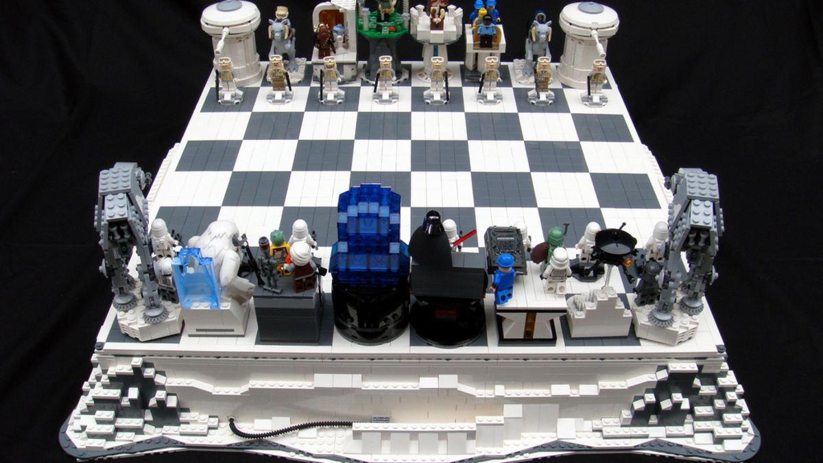 Empire Strikes Chess Gallery in 2020 Star wars chess set