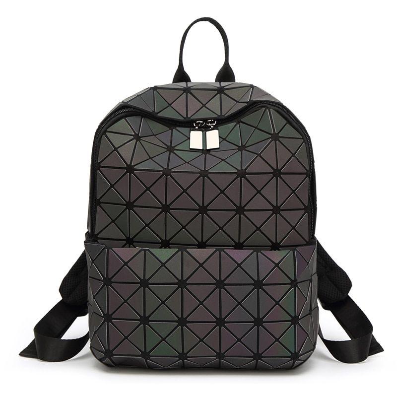 90ca7b331b  32832720484 Aliexpress New Geometric Women Leather Backpack School Bags  For Teenage Girls Laptop Backpack Zipper Anti Theft Backpack Mochila on  Aliexpress ...