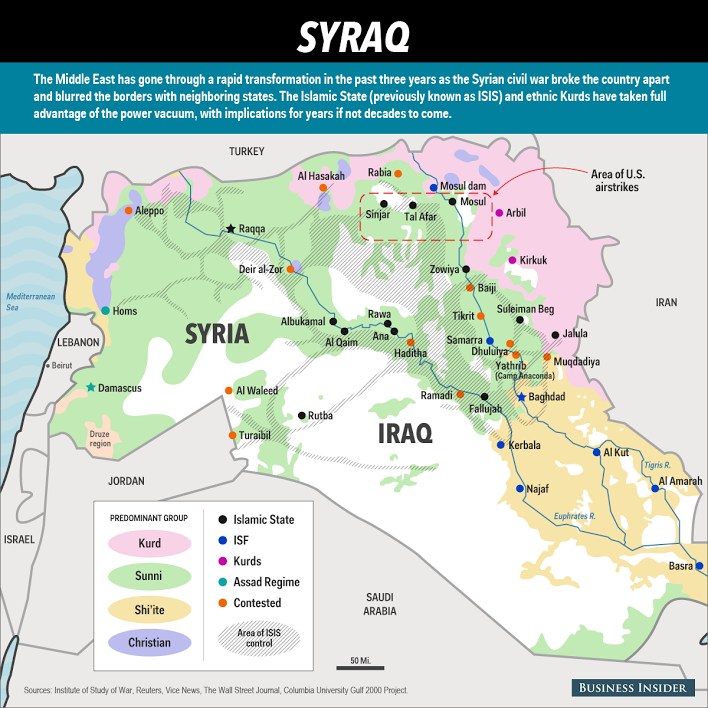 Map syria geschiedenis pinterest syria and global conflict syraq everyone who wants to destroy isis needs to know one hard truth given the momentum that isis has built over the past two years in syria and iraq gumiabroncs Choice Image