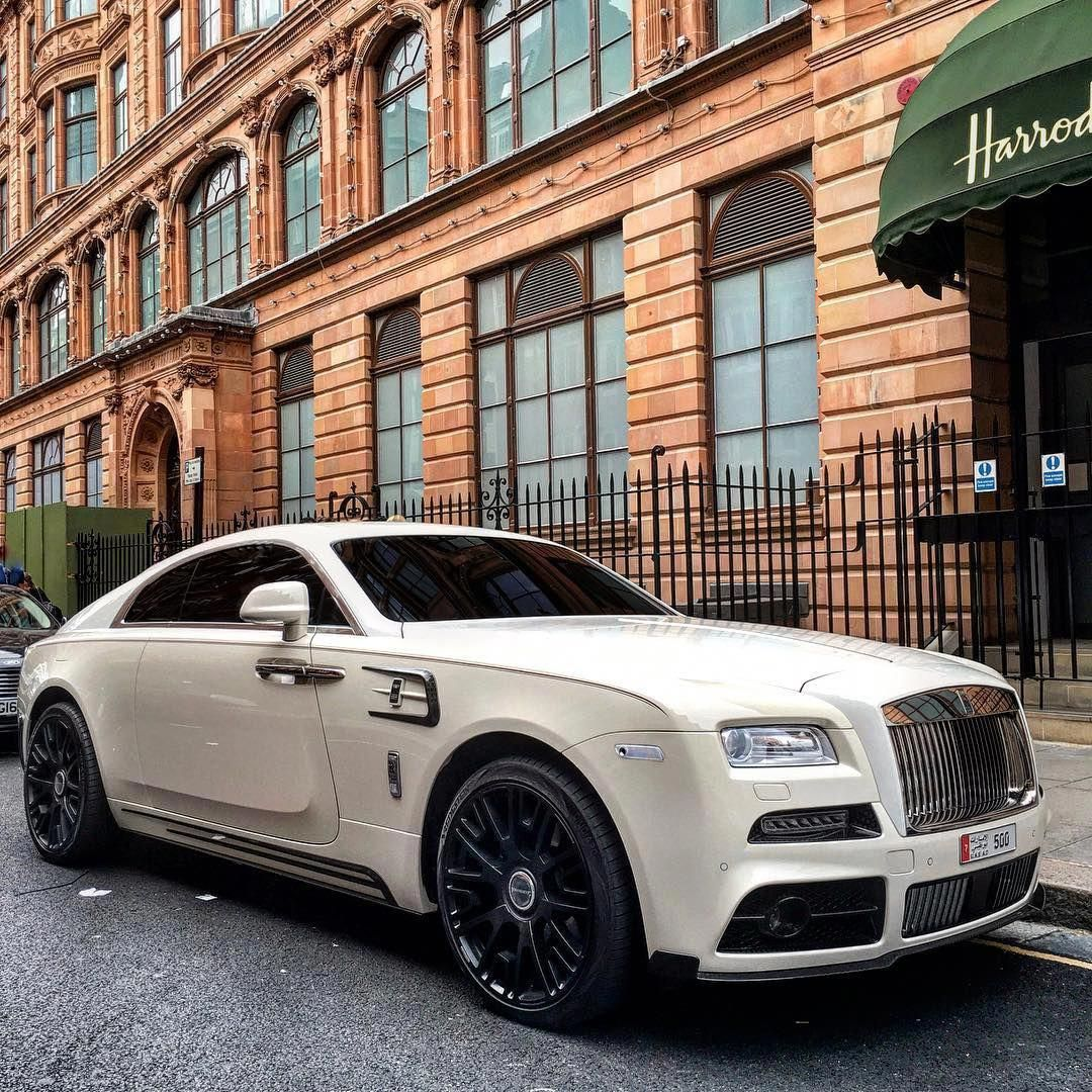 Supercar Duo Luxurycorp Rollsroyce: Mansory Rolls Royce Wraith