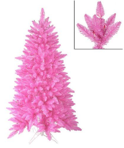 $179.99-$249.99 4.5' Pre-Lit Slim Pink Ashley Spruce ...