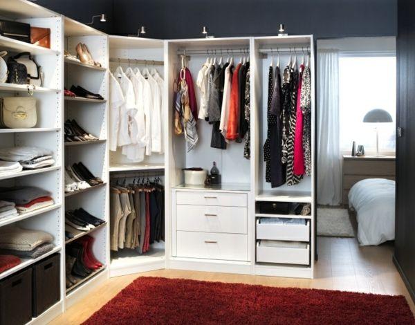 Ikea pax schrank ohne türen  Pax Kleiderschrank - Schaffen Sie leicht Ordnung in Ihrem Schrank ...