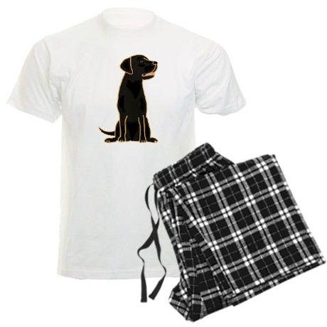 Cute black labrador retriever dog pajamas #dogs #black #labrador #retriever #pets #pajamas #animals #cafepress