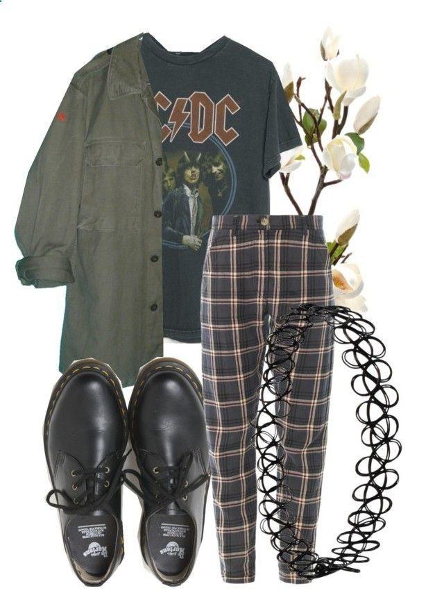 AC  DC alternative GrungeRock music Outfit idea Music
