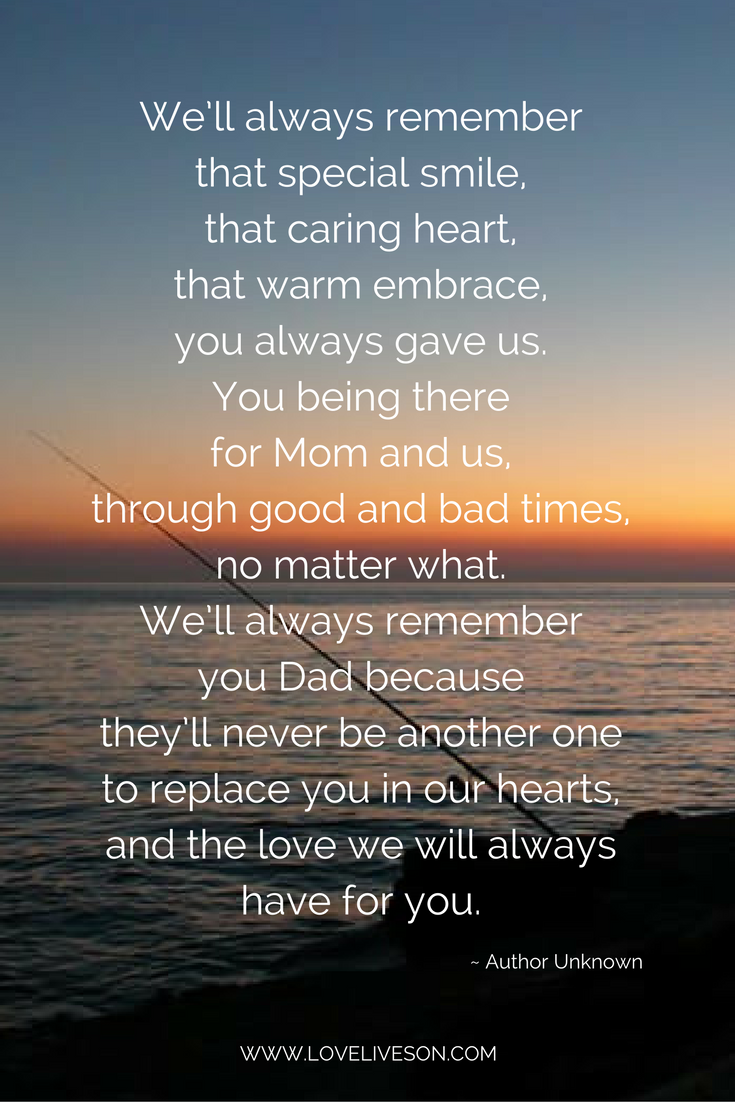 17 Best Funeral Poems for Dad