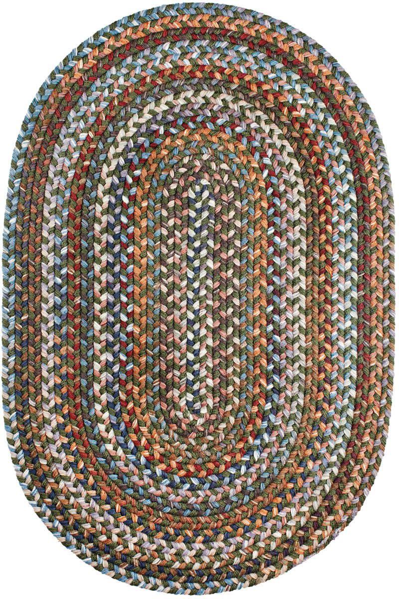 Rhody Rugs Astoria As22 Greengrass Rug Studio Braided Wool Rug Rhody Rug Braided Area Rugs