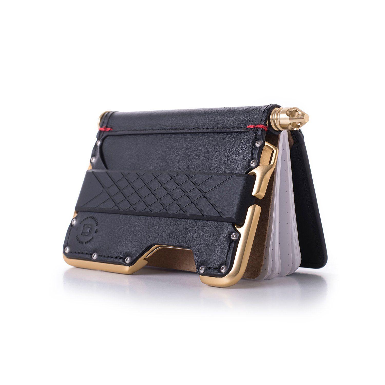Dango Civilian Leather EDC Wallet Made in USA Jet Black