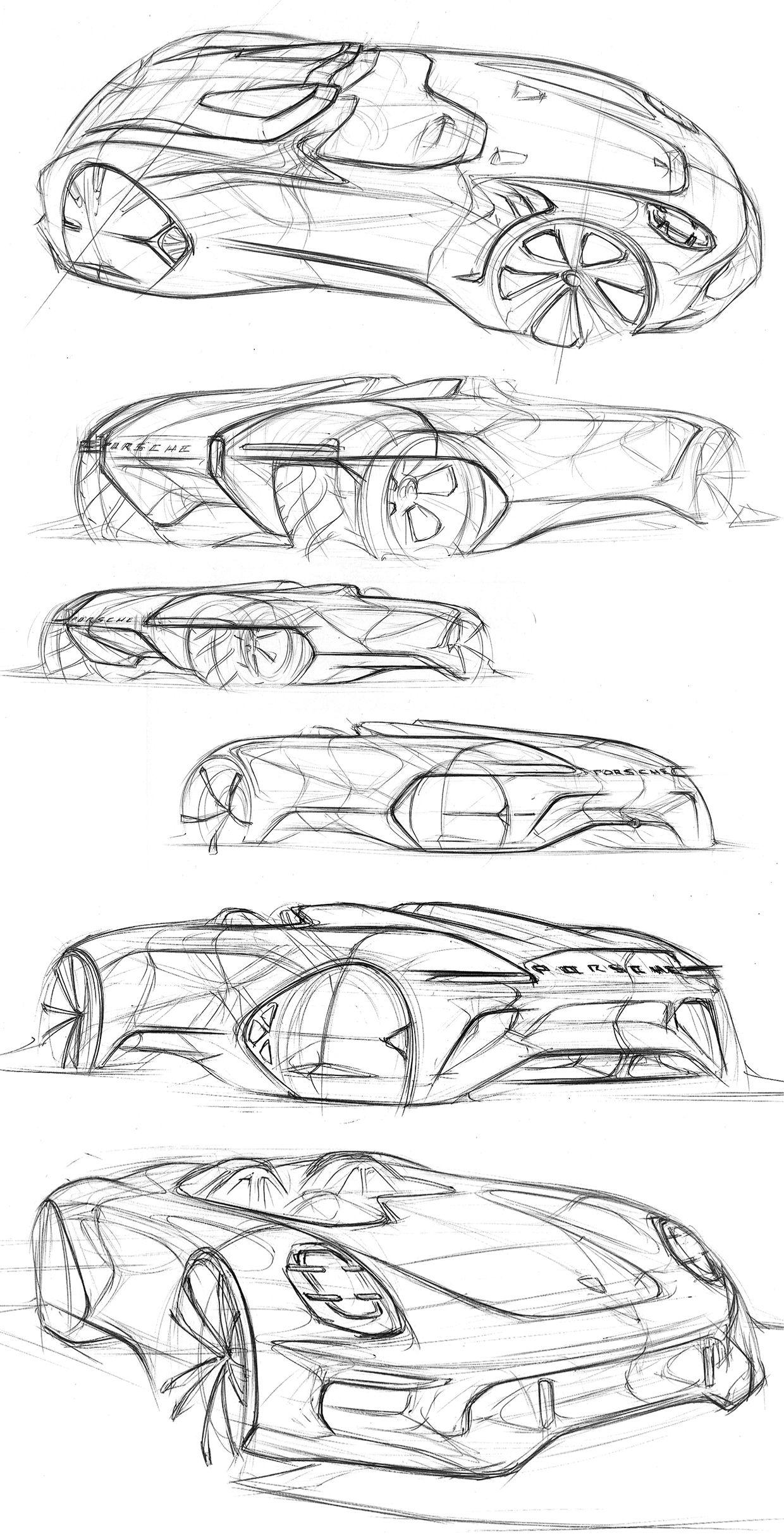 Automotive Sketchbook On Behance