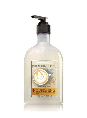 Marshmallow Pumpkin Latte Hand Soap With Pumpkin Butter Bath And