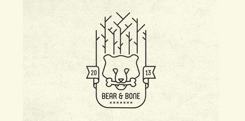 Bear & Bone « Logo Faves | Logo Inspiration Gallery