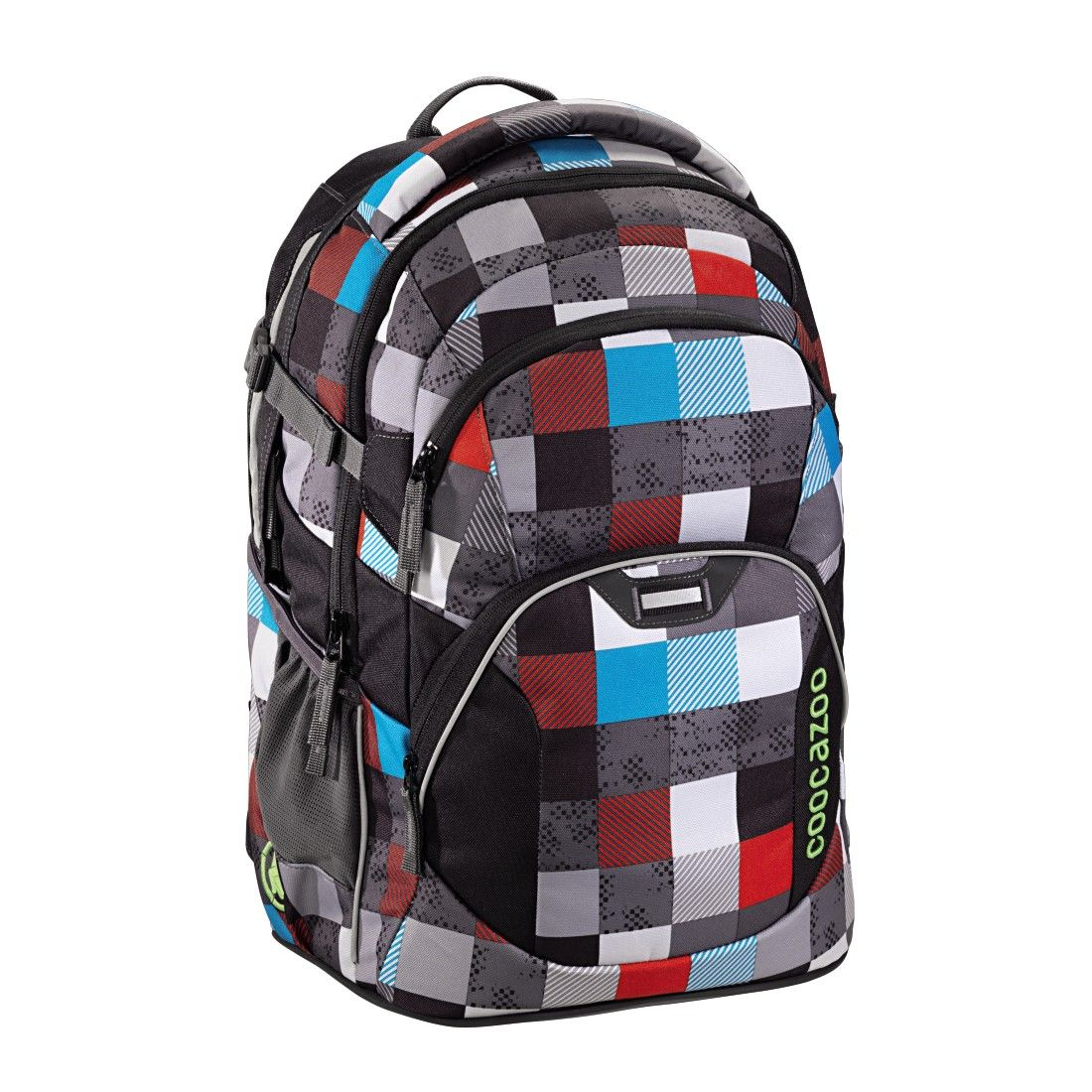 """Checkmate Blue Red Coocazoo Rucksack /""""EvverClevver2/"""""""