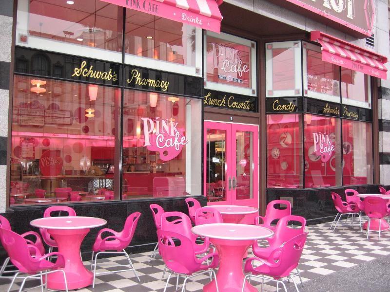 Pink Cafe in Osaka | - ✤ PINK & BLACK ✤ - | Pinterest | Osaka ...