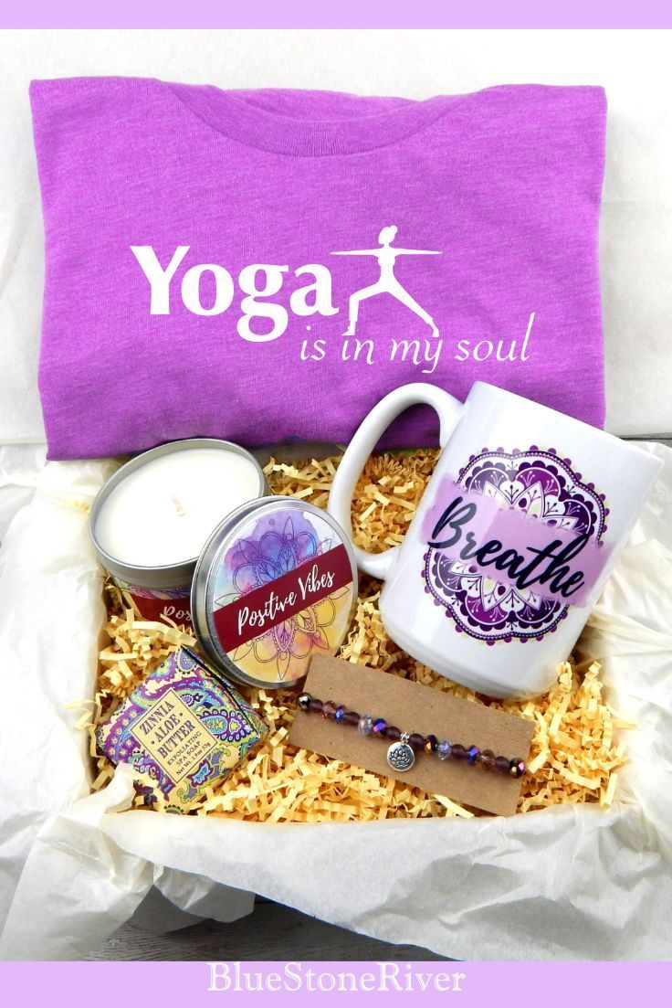 Yoga Gift Basket Yoga Lover Self Care Gift Baskets