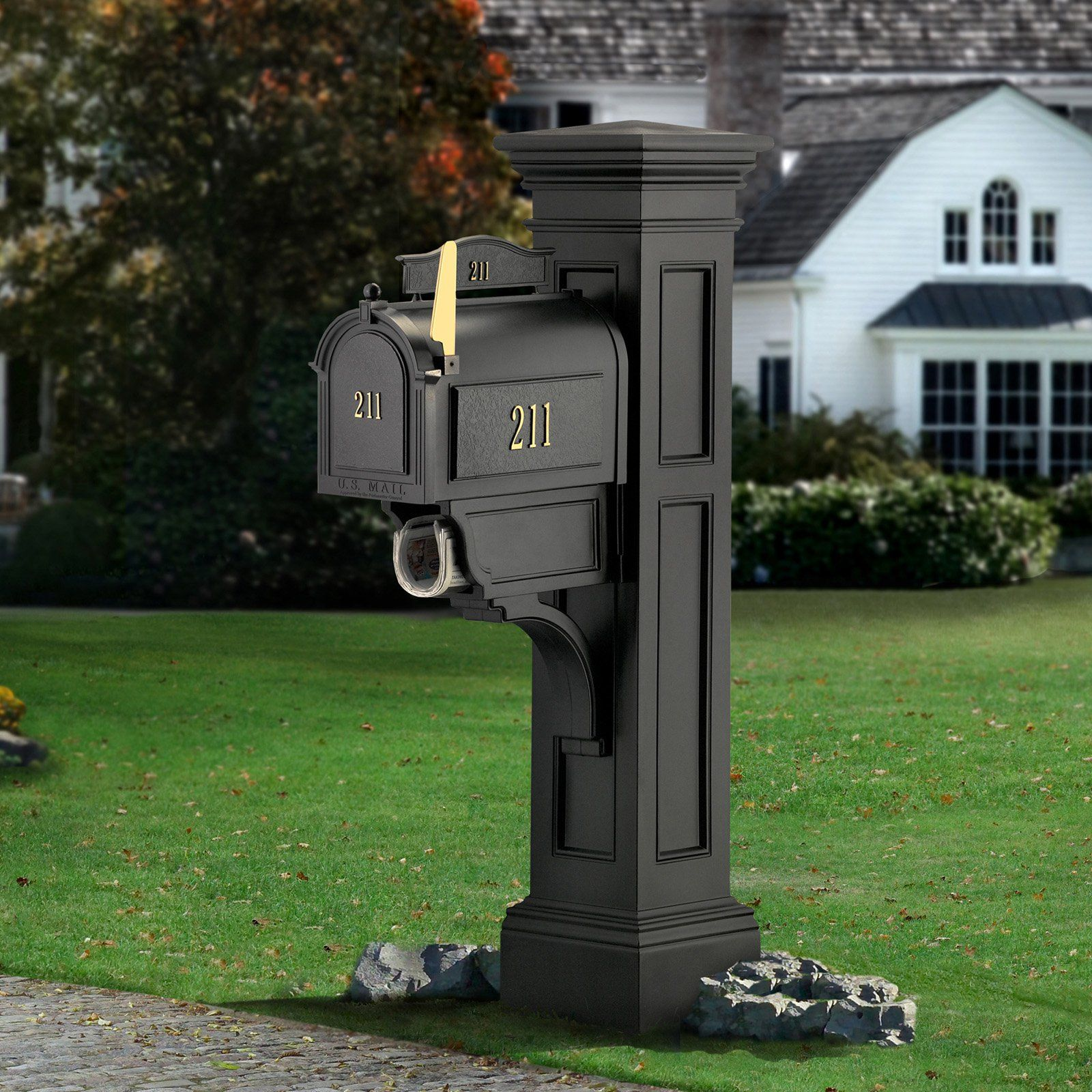 residential mailboxes. Mayne Liberty Mail Post - Create A Stately Mailbox In Style That Never Goes Out With The . This Distinctly American New Residential Mailboxes S