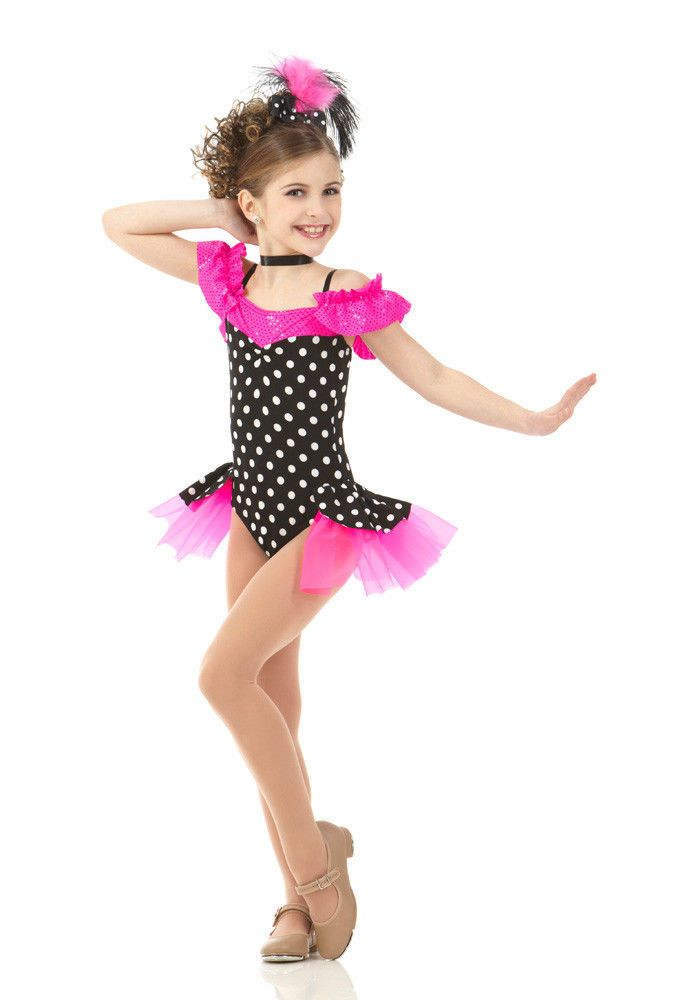 266d3b6fc Details about Baby Face Jazz Tap Dance Costume Child XS   Small ...