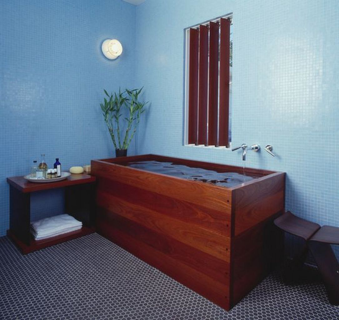 40+ Japanese Soaking Tubs Inspiration for Your Bathroom | Japanese ...