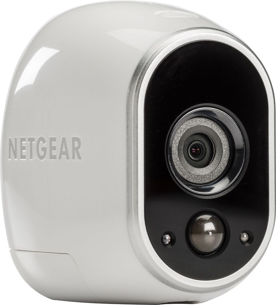 NETGEAR - Refurbished Arlo Add-On Indoor/Outdoor 720p Wi-Fi Wire ...
