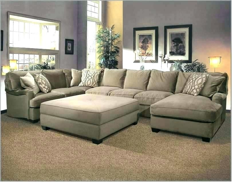 Sectional Sofa With Oversized Ottoman Large Sectional Sofa