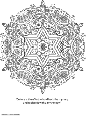 Psychedelic Ornaments Coloring Page From Psychedelic Art Category Select From 25444 Printable Crafts Of Cartoo Coloring Pages Mandala Coloring Mandala Pattern