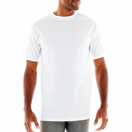 9e2167335bde Stafford 4-pk. Heavyweight Crewneck T-Shirts-Big & Tall   Products ...