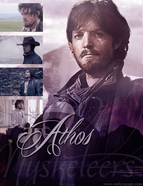 The Musketeers graphics set - Athos