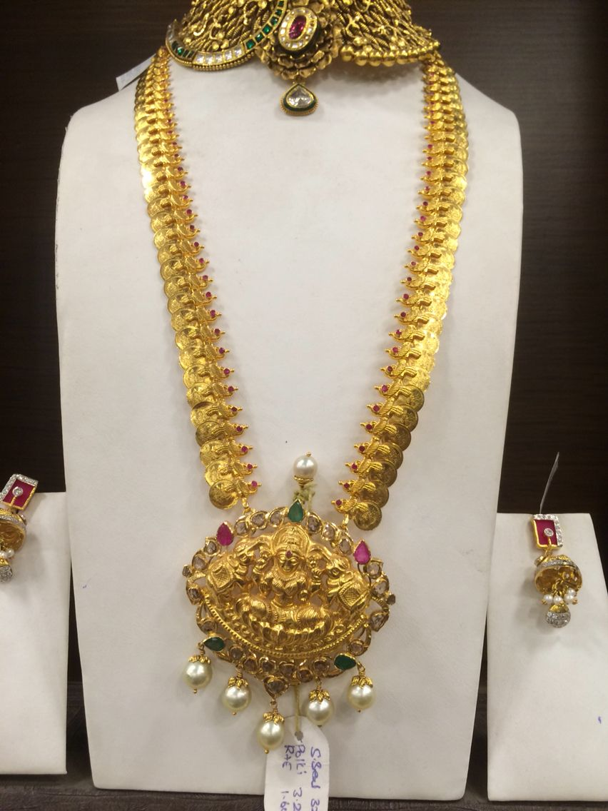 56b78efd41e9e Long necklace 70 Gms Kas | PREMRAJ SHANTILAL JAIN JEWELLERS ...