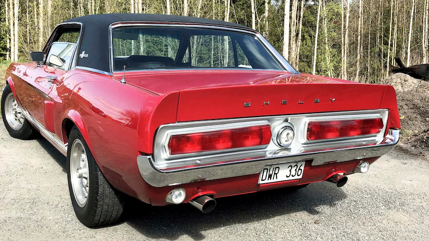 """1967 Shelby GT500 """"Little Red"""" Replica: A Restomod Mustang ..."""