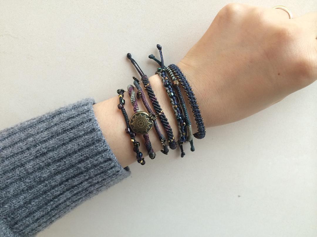 Wakami Earth Bracelet Night  #20160116 #토요일 . #코준 #koujun #wakami #wakamikorea #bracelet #handmade…
